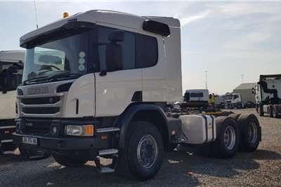 Scania Double axle P410 Truck tractors