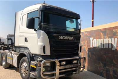 Scania Double axle R420 Truck tractors