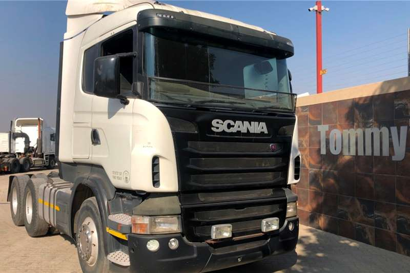 Scania Truck tractors Double axle R420 2011