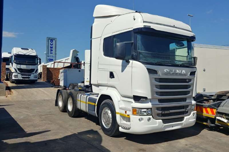Scania Truck tractors Double axle R460 2014