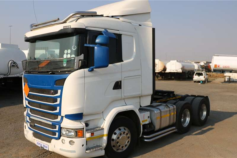 Scania Double axle R460 Truck tractors