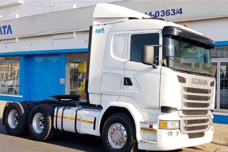 Scania Truck tractors Double axle R460 6x4 Truck Tractor 2016