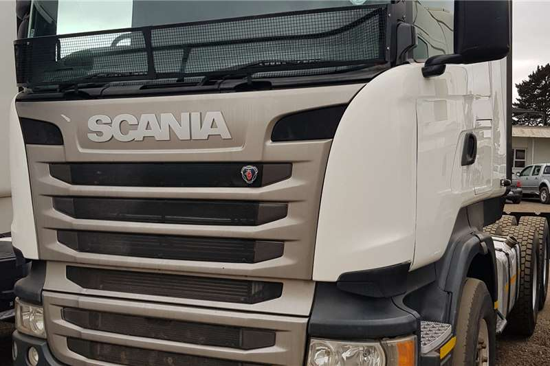 Scania Double axle R460 ex Tautliner Fleet Truck tractors