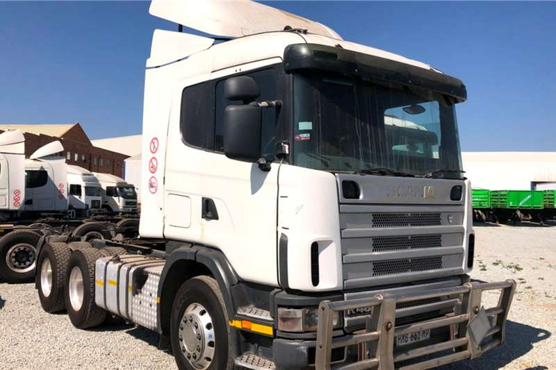 Scania Truck Tractors Double Axle R480 2007
