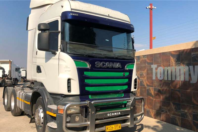 Scania Truck Tractors Double Axle R500 2011