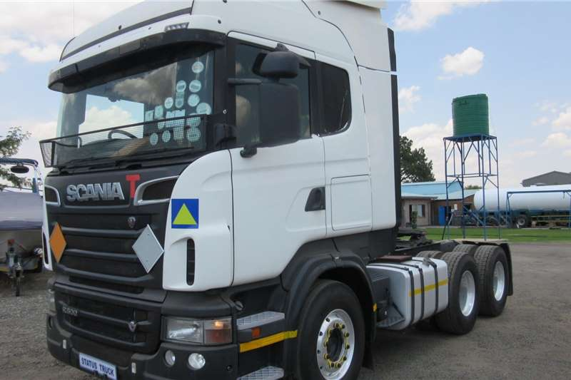 Scania Truck tractors Double axle R500 2012