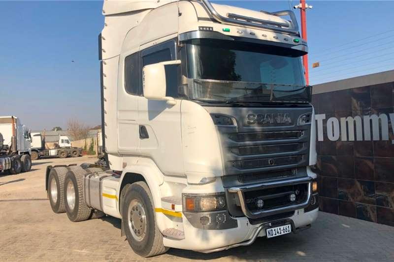 Scania Truck Tractors Double Axle R500 2016