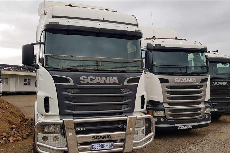 Scania Double axle R500 Ex Fridge Fleet, New Virgin Tyres Truck tractors