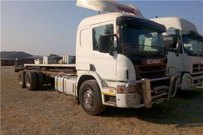 Scania Truck Tractors Double Axle Scania P310 Chassis Cab 2014