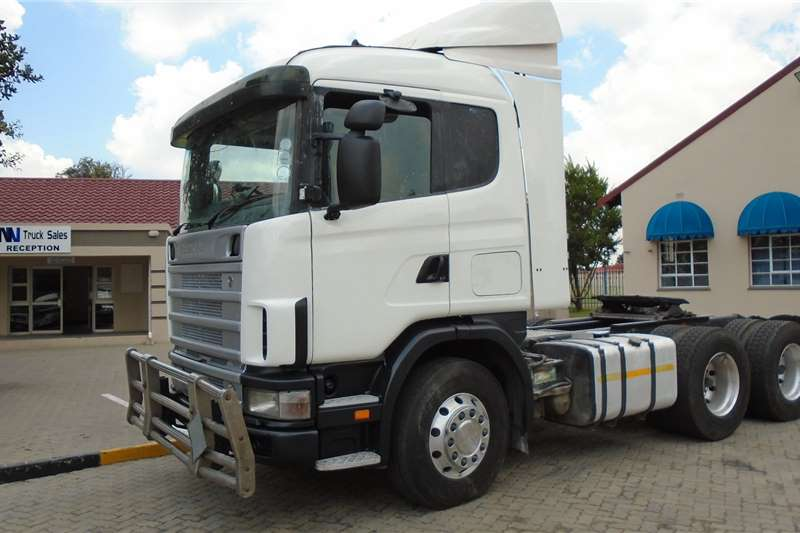 Scania Truck Tractors Double Axle Scania R480 2007