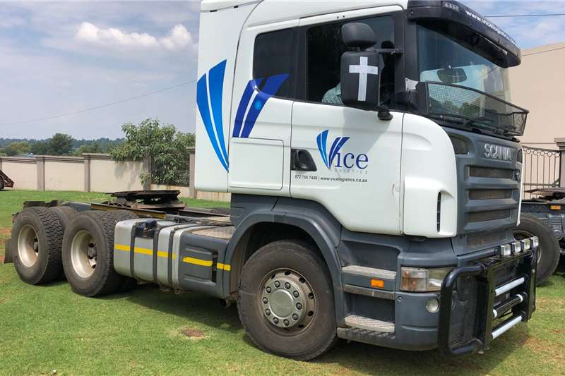 Scania Truck tractors Double axle SCANIA R500 2009