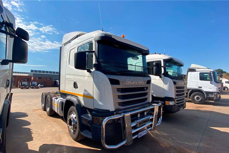 Scania Double axle X2 SCANIA G460 6X4 T/T Truck tractors