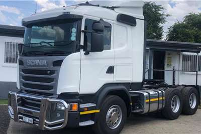 Scania G460 6X4 truck tractor fitted with bull bar Truck tractors