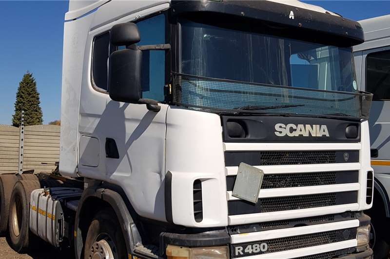 Scania R480 164G 6x4TT Auto Truck tractors