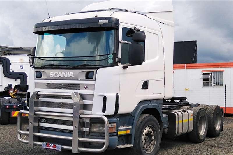 Scania SCANIA R380 Truck tractors