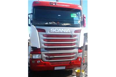 Scania Truck tractors Scania R460 full service history 2016