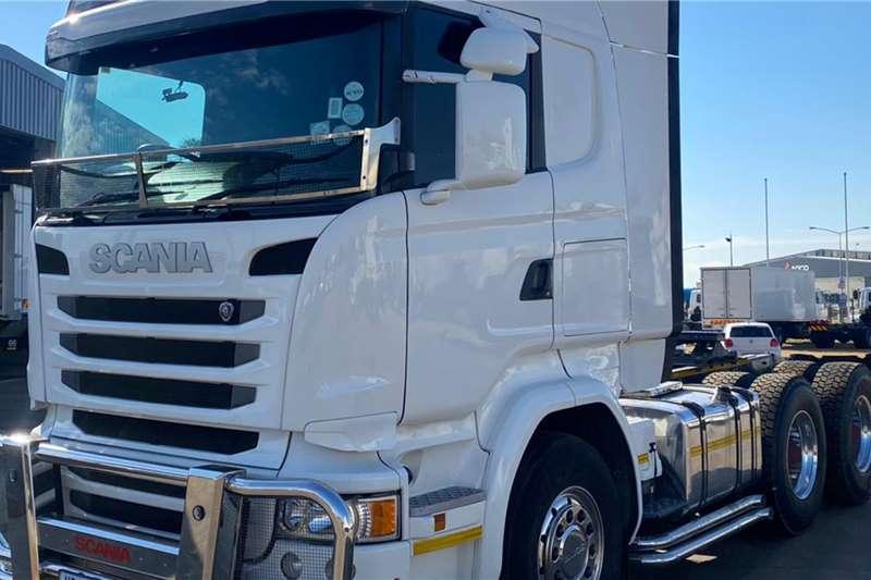 Scania SCANIA R460 TT, Aerokit,Bullbar,Stone guard,Aloy W Truck tractors