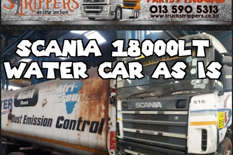 Scania Truck Water tanker Scania water car
