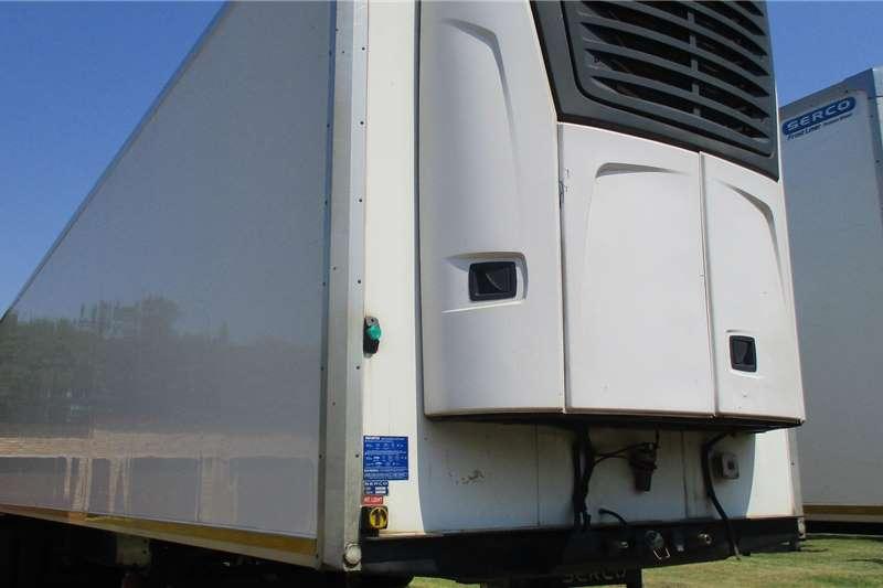 Serco 30 Pallet Tri Axle Fridge Carrier unit Trailers