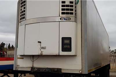 Serco Refrigerated trailer Dbl Axle 11m Thermoking SLTCi Tailift Trailers