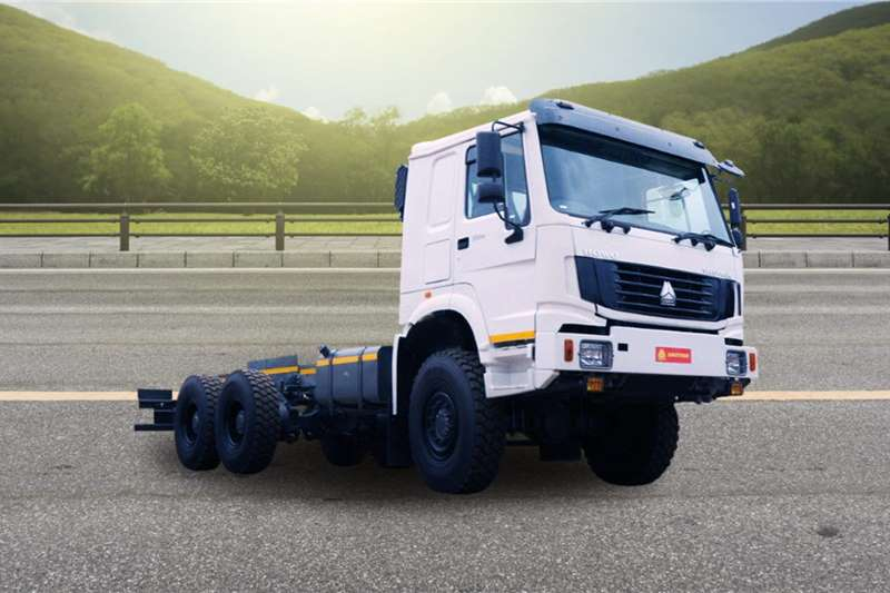 Sinotruk Chassis cab trucks 6x6 Chassis Cab 2020