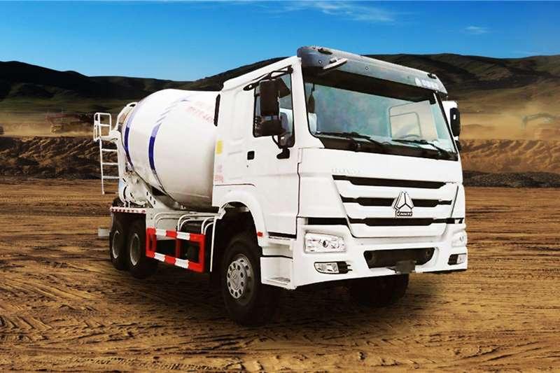 Sinotruk Concrete mixer trucks 6x4 6 cube Mixer 2020