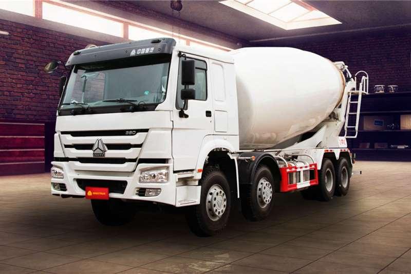 Sinotruk Concrete mixer trucks New   Sinotruk 8m³ Mixer 8x4 2020