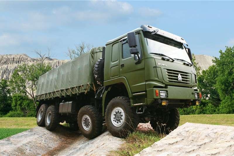 Sinotruk Dropside trucks New   Sinotruk Howo 8x8 Cargo 2020