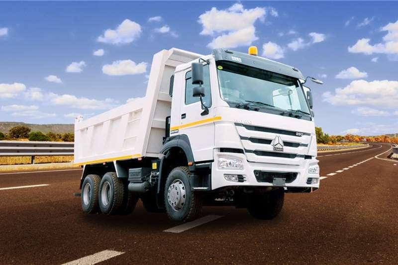 Sinotruk Tipper trucks 6x4 12m3 Tipper 340HP 2020
