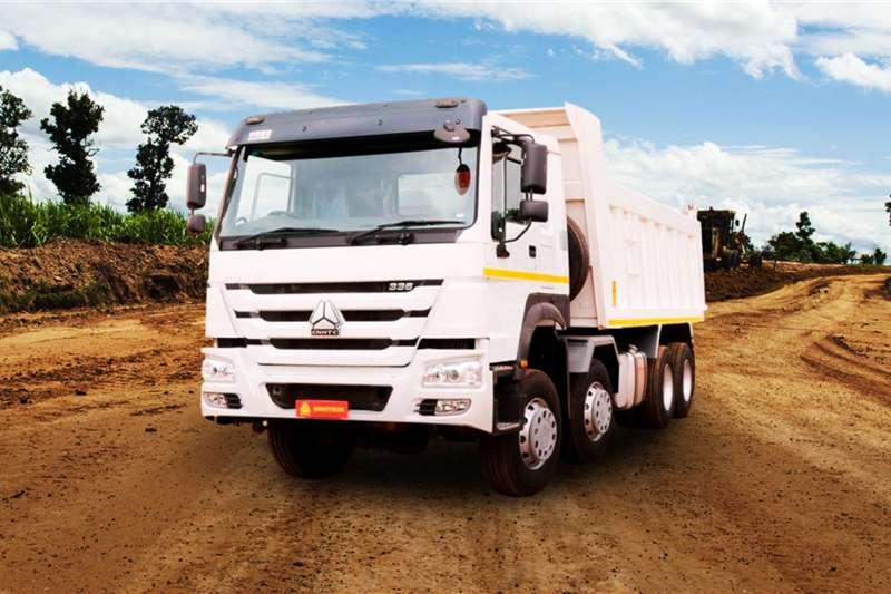 Sinotruk Tipper trucks 8x4 18m³ Tipper 336HP 2020