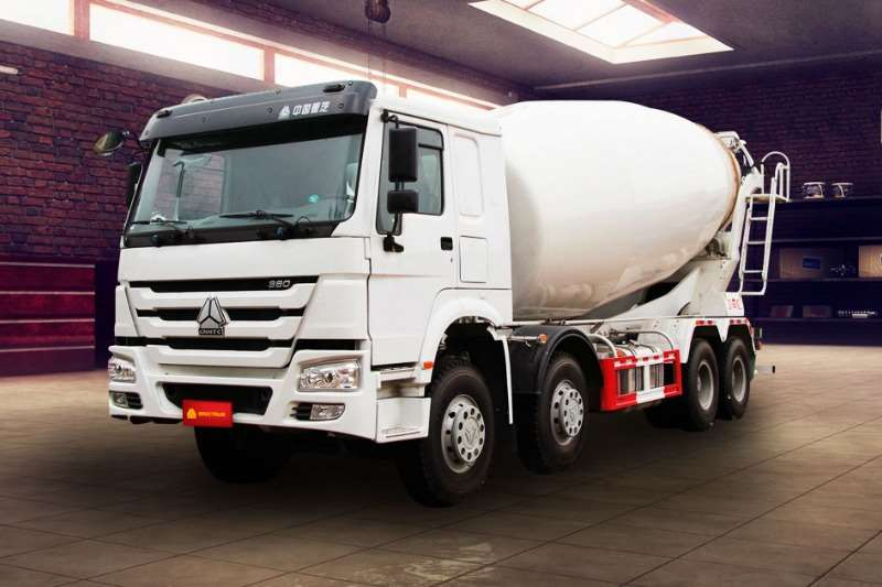 Sinotruk Truck Concrete mixer New   Sinotruk 8m³ Mixer 8x4 2018