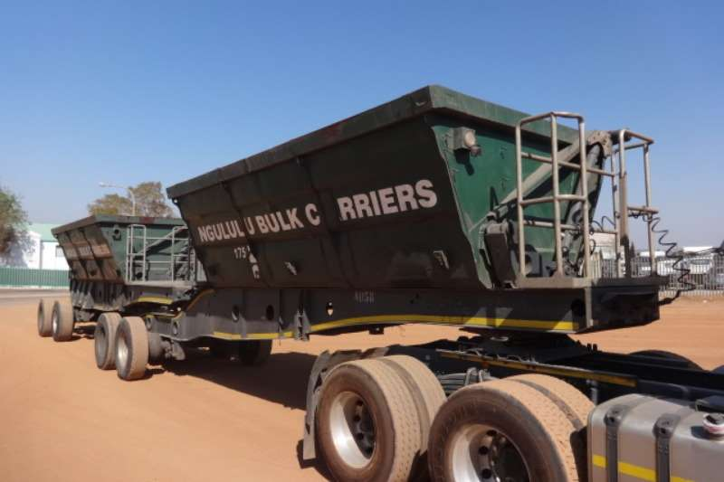 Southern Star Trailers Double Axle Side Tipper Trailer 2014