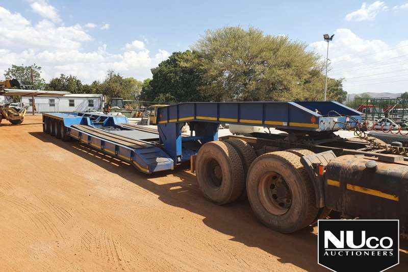 Superior Trailers SUPERIOR 4 AXLE HYDRAULIC BREAKNECK LOWBED