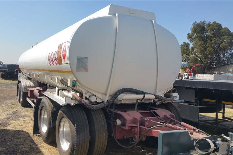 1998 Tank Clinic  Drawbar Fuel tanker