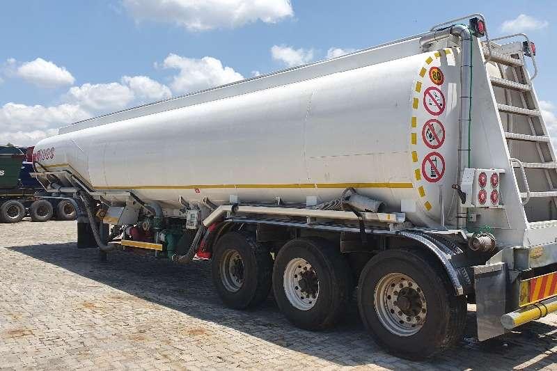 Tank Clinic Alluminium tanker 38000l fuel tanker Trailers