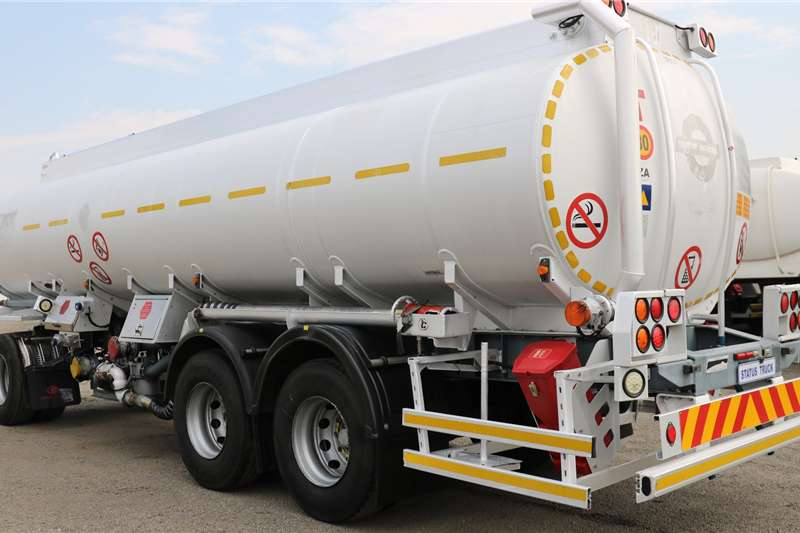 Tank Clinic Drawbar Tri   Axle Trailers