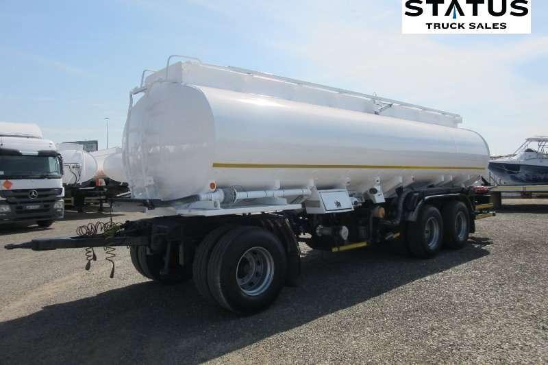 Tank Clinic Trailers Fuel tanker Tri   Axle 2007