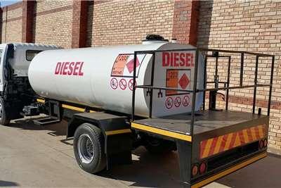 TOYOTA DYNA 8 145 WITH DIESEL TANK Tanker trucks