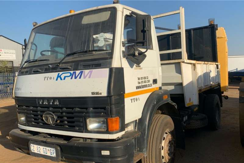 Tata 1518C WITH ENERGY ABSORPTION ATTACHEMNT Dropside trucks