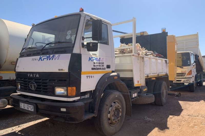 Tata Truck 1518 6m3 Dropside Truck with Impact Protector 2007