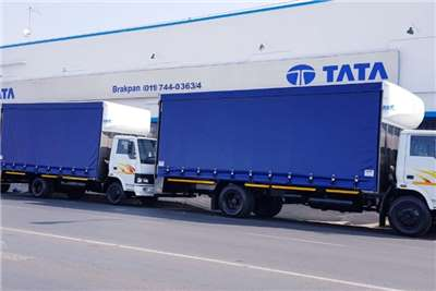Tata Curtain side Tata 4 ton tautliners Truck