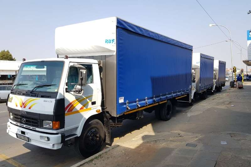 Tata Truck Curtain side Tata 4 ton tautliners 2019
