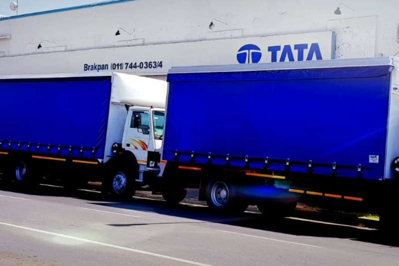 Tata Curtain side Tata 8 ton Tautliner, built to size Truck