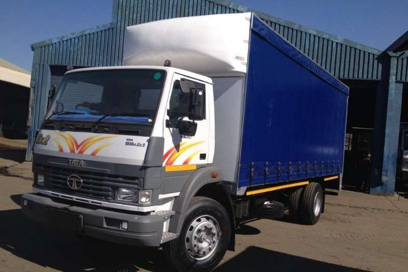Tata Truck Curtain side TATA LPT 1518 8 TON TAUTLINER BODY TRUCK NEW 2019