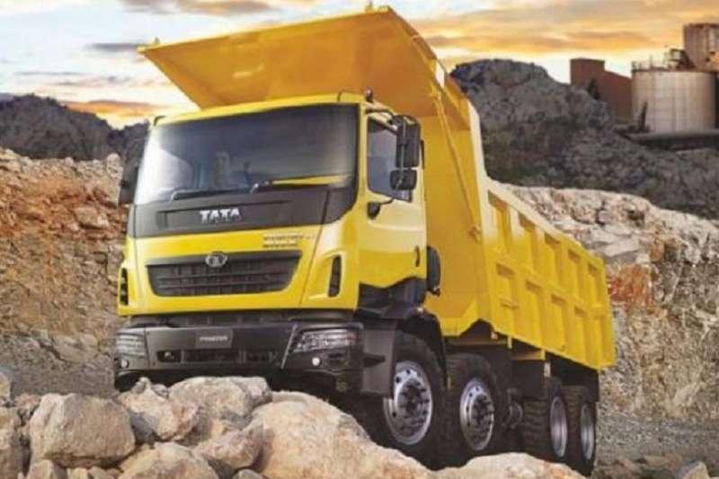 Tata Truck Tipper NEW   TATA Prima 3338K 8X4 (16 Cube Tipper) 2019