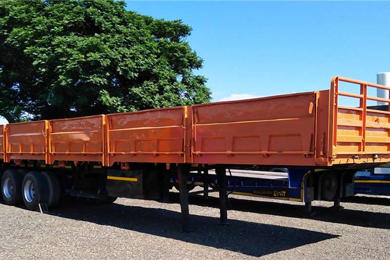 TDM Trailers High sides TDM TRI AXLE WITH DROPSIDES 1994