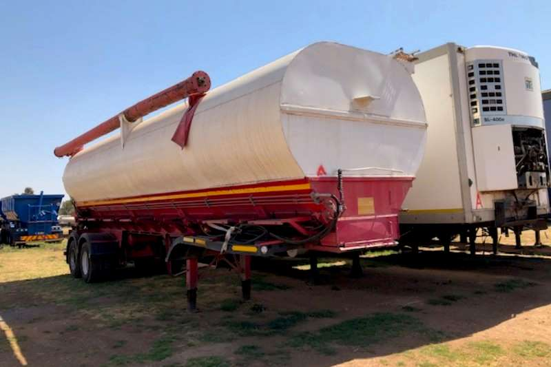 TEE Trailers Auger bulk trailer Numerous Auger Bulk Drawbar Tanker Trailers