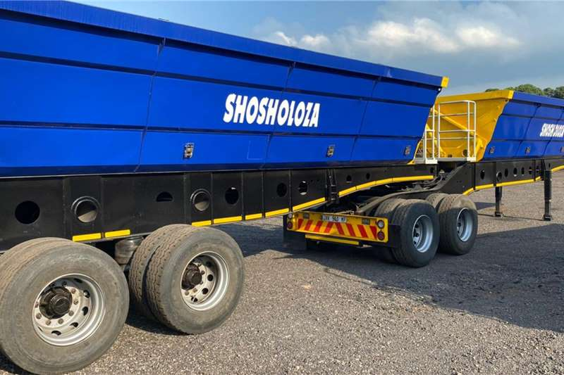 Tipper trucks 40 cube afrit side tippers 2015