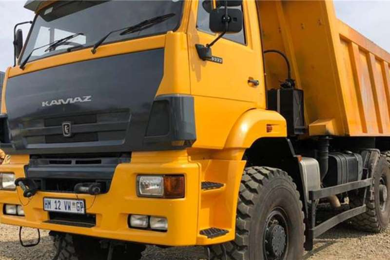Tipper trucks KAMAZ 65222 63 (9m3) 6x6 TIPPER 2018