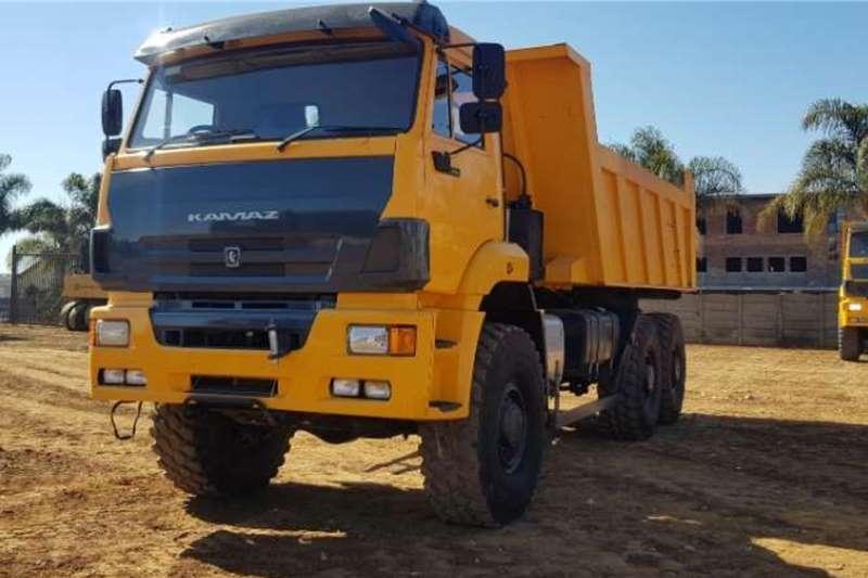 KAMAZ 65222 63 (9m3) 6x6 TIPPER Tipper trucks